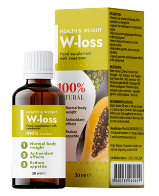 W-Loss picături pentru slabit - pareri, forum, prospect, ingrediente, farmacii, preț